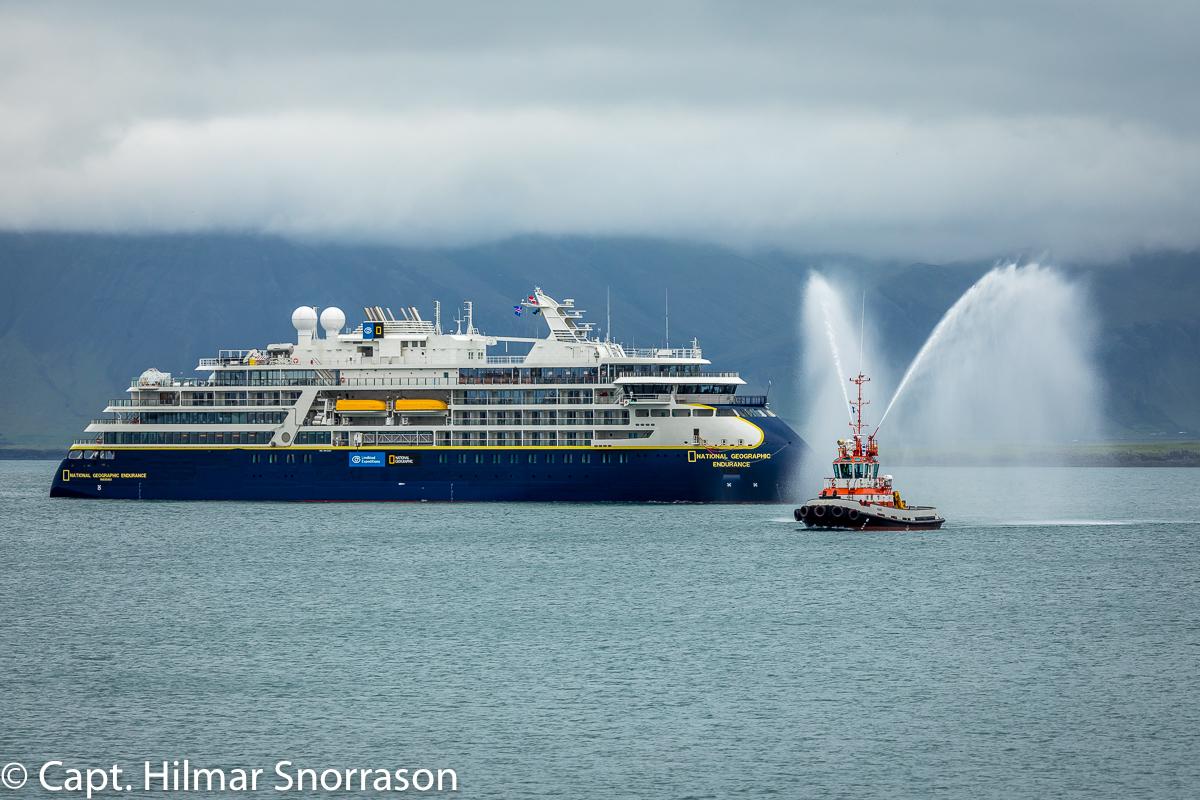 Arriving to Reykjavik